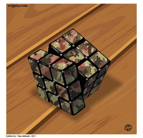 کاریکاتورهای سه بعدی مفهومی اثر Mark Fredrickson